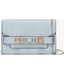 proenza schouler chain ps11 clutch 5088 baby blue one size