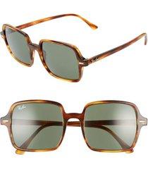 women's ray-ban 53mm square sunglasses -