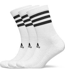 3-stripes cushi d crew socks 3 pairs underwear socks regular socks vit adidas performance