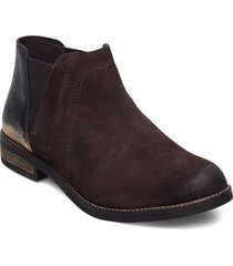 demi beat shoes boots ankle boots ankle boot - flat brun clarks