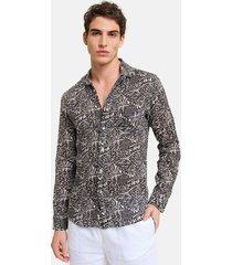 peninsula swimwear shirt basiluzzo linen