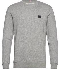 boozt piece sweatshirt sweat-shirt trui grijs les deux