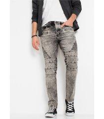 slim fit stretch jeans, straight