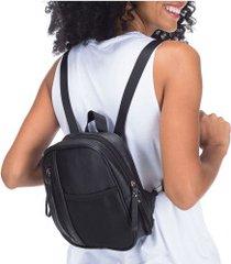 bolsa oxer mini mesh fs - feminina - preto