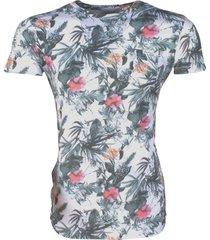 deeluxe heren t-shirt amazonia tropical -