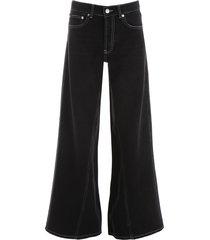 ganni flare jeans