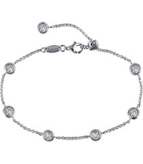 women's lafonn simulation diamond station bracelet