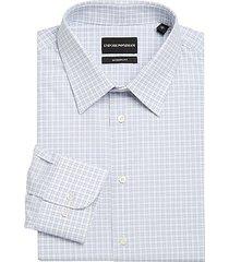 modern-fit check dress shirt