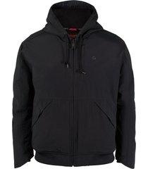 wolverine men's i-90 jacket black, size m
