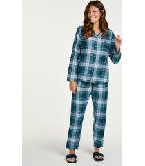 hunkemöller pyjamasset blå