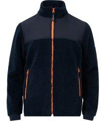 jacka maurice sherpa wool blend jacket