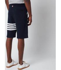 thom browne men's 4-bar classic sweat shorts - navy - 5/xxl