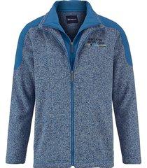 fleece vest babista blauw