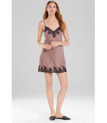 charlize chemise pajamas / sleepwear / loungewear, women's, grey, size s, josie natori