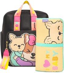 mochila maternal simones con cambiador