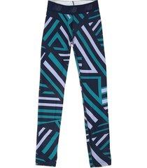 leggings azul-verde-lila new balance pacceleratetight
