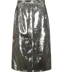 n.21 metallic skirt