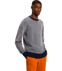 sweater lineas vertical multicolor tommy hilfiger