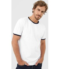 camiseta colombo logo branca