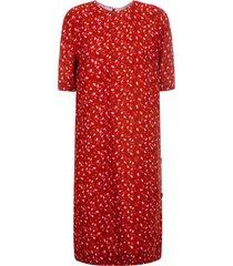 marni all-over floral print dress