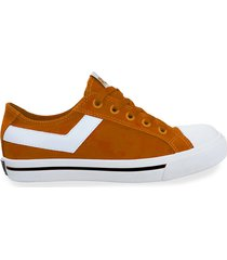 zapatilla naranja pony shooter ox canvas