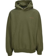 marni logo hoodie