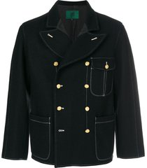 jean paul gaultier pre-owned pointed lapels double-breasted jacket -