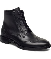 sartorelle 25 tailored shoes boots ankle boots ankle boot - heel svart ecco