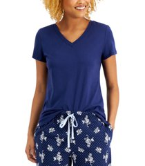 charter club v-neck pajama t-shirt, created for macy's