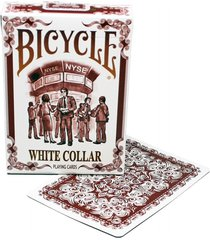 cartas bicycle collar white blanco trabajo baraja business.