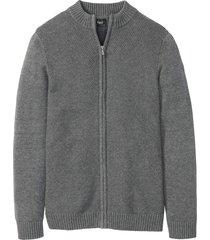 cardigan con taglio comfort (grigio) - bpc bonprix collection
