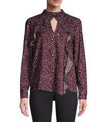 cianni combo blouse