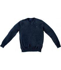 sweater slim fit crew neck gris polo ralph lauren