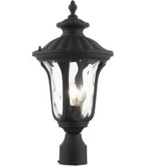 oxford 1 light outdoor post top lantern