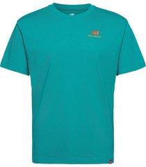 mt11592 t-shirts short-sleeved grön new balance