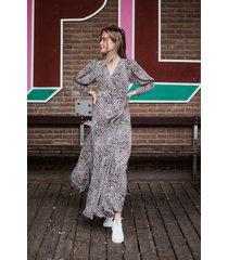 ambika jurk paars tawny kort