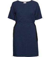 vilamida 2/4 dress kort klänning blå vila