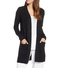 barefoot dreams(r) cozychic lite(r) long cardigan, size x-large in black at nordstrom