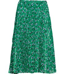 juliette skirt aop 10798 knälång kjol grön samsøe samsøe