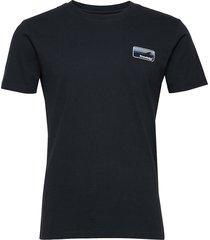 alder knowledge tee - gots/vegan t-shirts short-sleeved blå knowledge cotton apparel