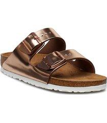 arizona soft footbed shoes summer shoes flat sandals brun birkenstock