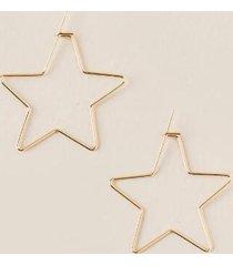 kora star hoops - gold