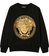 young versace black sweatshirt
