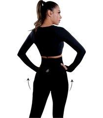 leggings para mujer, con levantamiento de glúteos, con control de abdomen