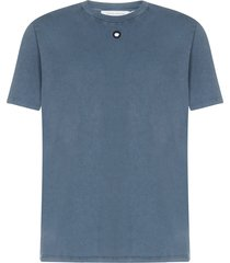 craig green embroidered hole short sleeve t-shirt