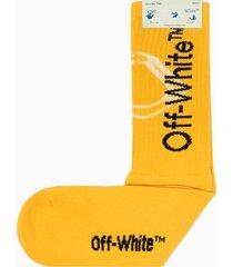 off-white tie dye mid lenght socks omra001e20kni001