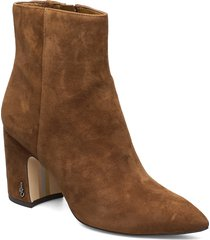 hilty shoes boots ankle boots ankle boots with heel brun sam edelman