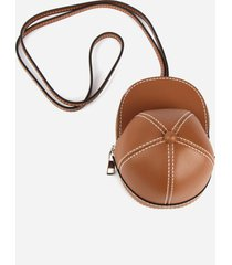 j.w. anderson nano leather cap bag