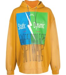a-cold-wall* software print hoodie - yellow