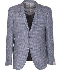 corneliani single-breasted unlined jacket